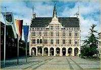 Historisches Rathaus (stadhuis) Bocholt (D)
